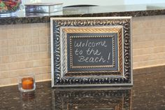 My Love Affair with Making Chalkboards Continues {Tutorial}…