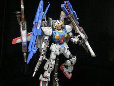 RX-178+FXA-05D Super Gundam