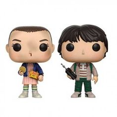 Figuras Funko Pop Stranger Things Eleven With Eggos & Mike - Pack