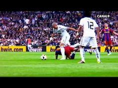 Xabi Alonso - Pepe Real Madrid 1 vs Barça 1 liga bbva