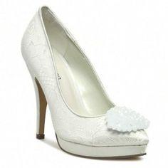 Tűsarkú MENBUR - PACOMENA 004753 Ivory/Marfil 004 Peeps, Peep Toe, Shoes, Fashion, Ivory, Moda, Zapatos, Shoes Outlet, Fashion Styles