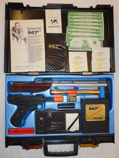 James Bond 007 Attache Case 1965 Superior High Grade Complete See Pics | eBay