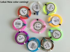 New fashion Lokai Bracelet 2015 Color Silicone Bead Bracelets Femme For Women Men Pulseras femininas female jewelry Wholesale-in Hologram Bracelets from Jewelry on Aliexpress.com | Alibaba Group
