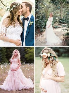 The best places to find maternity wedding dresses for you and your bump...