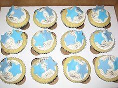 Star Fish Cupcakes