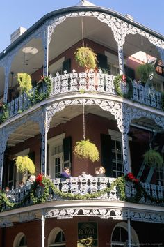 THE MOST FAMOUS BALCONY IN THE FRENCH QUARTER-NEW ORLEANS
