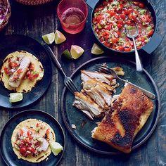 Crispy Pork Belly Tacos with Pico de Gallo | Food & Wine
