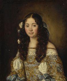 Portrait de Laura Chigi, par Jacob Ferdinand Voet
