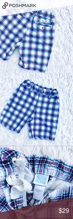 • Janie and Jack • Plaid Shorts Good condition • Open to offers via button Janie and Jack Bottoms Shorts