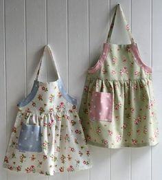 Children's aprons - ask each child what fabrics they want to use and then make them an apron!