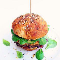 Cizrnový burger – A co teda jíš? – Veganské recepty