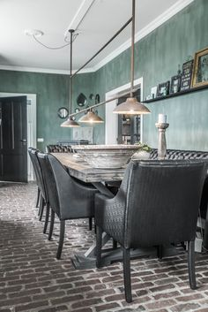 our kitchen.... paints and furniture by L'Authentique Paints & Interior. Picture taken by @paulinaarcklin