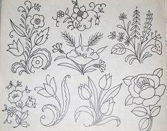vintage embroidery pattern @Annick Philibert Philibert Philibert Philibert Philibert Philibert Bouvier-Selwyn
