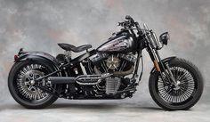 """Sweet Custom Harley Davidson Cross Bones"" - My dream bike with a few alterations!"