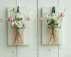 New...Shabby Chic Wall Decor...Individual by cottagehomedecor