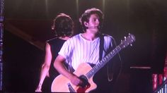 Niall Horan talking to everyone at the Nashville WWA concert! (August 19th, 2014).