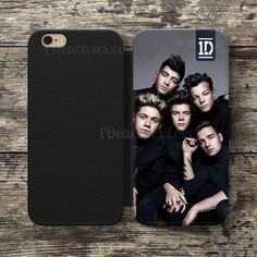 One direction 1D Wallet Case For iPhone 6S Plus 5S SE 5C 4S case, Samsung Galaxy S3 S4 S5 S6 Edge S7 Edge Note 3 4 5 Cases