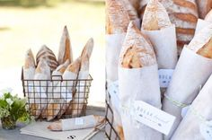 PAN DE BODA  Sea como sea, el caso es que, como decía mi sabia abuela, el pan no debería faltar en vuestra mesa de boda. En http://www.unabodaoriginal.es/blog