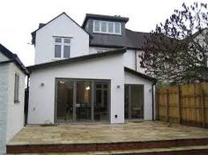 Image result for pitched roof rear extension