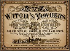 Witches Powders