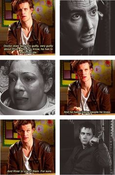 And he didn't even know it yet. :( River Song and The Doctor