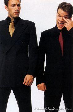 Affleck and Damon.
