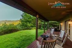 Kayakers Delight cabin in NC smokey mts.  $185 / night