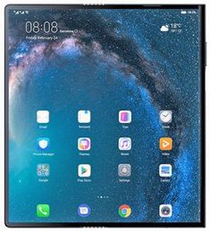 General overview of Huawei Mate Xs. Price of Huawei Mate Xs is and Huawei Mate Xs features are Foldable OLED display, Kirin 990 chipset, 4500 mAh battery, 512 GB storage, 8 GB RAM. Types Of Folds, Cheap Gadgets, Mini Tv, Arm Cortex, Latest Android, Android 9, Huawei Phones, Mobile Price, Simile
