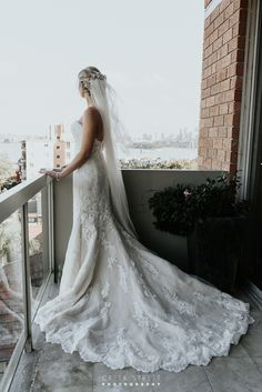The weather forecast for Sophie and Blake's Sergeants Mess Chowder Bay wedding day was rain rain and more rain, but what a beautiful day we Wedding Shoot, Wedding Day, Wedding Dresses, What A Beautiful Day, Bride Getting Ready, Bride Gowns, Ever After, Balcony, Brides