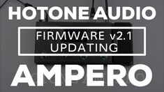 Here's another quick vid showing how to perform the firmware update for the latest released version there's also a new version of the Ampero Editor but . You Must, Editor, Audio, Website, Watch, News, Instagram, Clock, Bracelet Watch