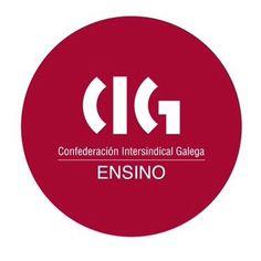Marca para sindicato galego nacionalista e de clase CIG. Sector Ensino. 1991