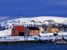 Vardø, Norway <3   Where one of my books is set. :)