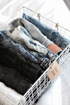 18 trendy small clothes closet organization diy how to organize Wardrobe Organisation, Small Closet Organization, Organization Ideas, Bedroom Organization, Bedroom Storage, Clothing Organization, College Organization, Clothing Racks, Storage Ideas
