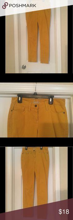Gold Boden skinny jeans Gold Boden women's skinny jeans Boden Jeans Skinny