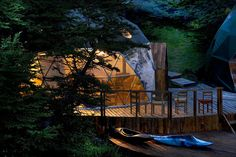 Staying at an eco-lodge in the Torres del Paine National Park