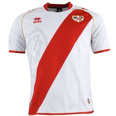 ERREA - RAYO VALLECANO MAGLIA UFFICIALE 2012-13 Madrid, Polo Shirt, Club, Nike, Mens Tops, Shirts, Lightning Bolt, Sports, Polos