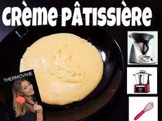 Crème pâtissière, recette en vidéo réalisée au Thermomix, au Cook Expert et sans robot