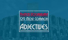 Here is a list of the most commonly used French Adjectives sorted in alphabetical order.