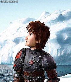 """Love how Hiccup's face is like in awe and then he's just like """"what?"""""""