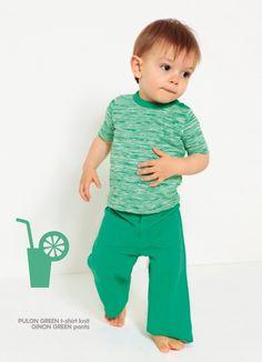 Groene Broek Ginon - Balune - webwinkel voor eigenwijze baby- en kinderkledij