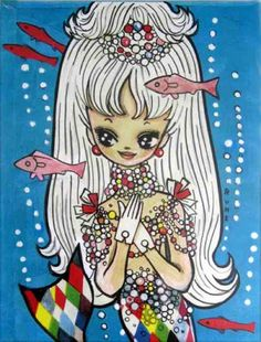 "Art by Rune Naito - [No.8/10] ""カワイイ""の原点探る「もうひとつの内藤ルネ展」渋谷で開催の画像 | Fashionsnap.com"