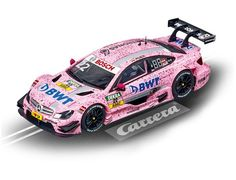 "The Carrera 1/32 AMG Mercedes C-Coupe DTM ""L.Auer, No.22"", is a superbly detailed Carrera Evolution slot car for use on any 1/32 analogue slot car layout."