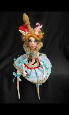Alice in wonderland,art doll