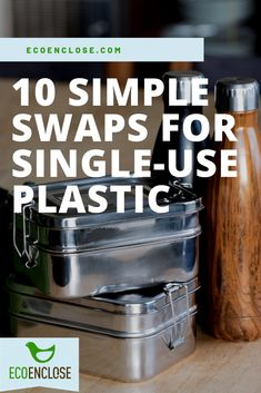 Here are 10 easy ideas to common single-use plastics. Plastic Free July, Sustainable Gifts, Clean Living, Natural Cleaning Products, Sustainability, Zero Waste, Simple, Easy, How To Make