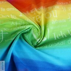 Didymos Rainbow Love at Little Zen One