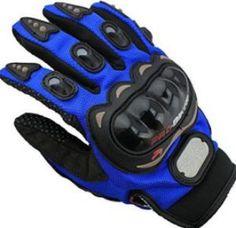 Blue Spartan gloves