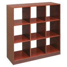 Badger Basket 9-cube Storage Unit - Cherry