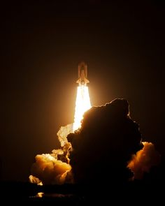 STS-130 Night Space Shuttle Launch - Explored by Malenkov in Exile, via Flickr