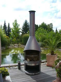 Girse Outdoor Fireplace & BBQ