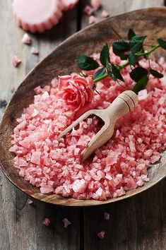 Spa concept with soap and pink salt by Oxana Denezhkina on 500px